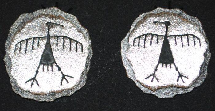 Navajo Rock Art Jewelry by Ernie Washee