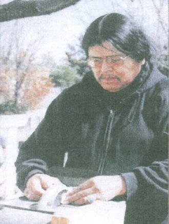 Ernie Washee Dine (Navajo) Silversmith and Artist