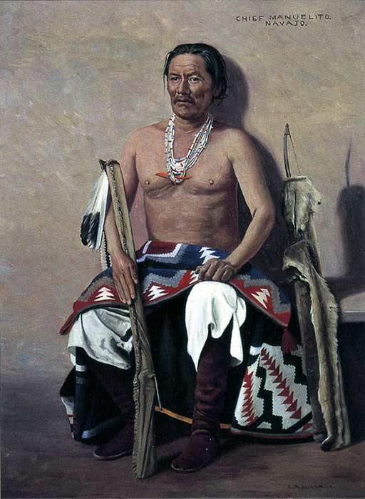 Manuelito Navajo leader