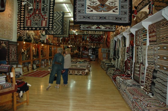Richardson's Trading Post Navajo Rugs
