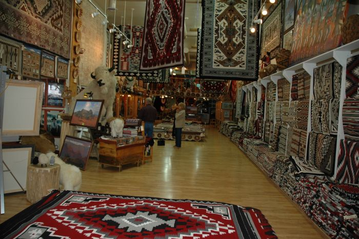 Richardson Trading Post Navajo Rugs 3
