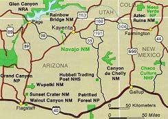 Navajo Reservation Arizona Map.Maps Of The Navajo Nation